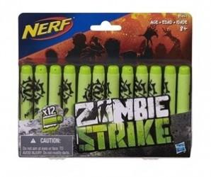 Nerf zombie strike 12 pk. Deco dart refill