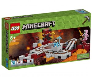 Netherjernbanen - 21130 - LEGO Minecraft