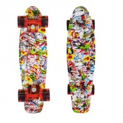 Nils Extreme Pennyboard Multicolor