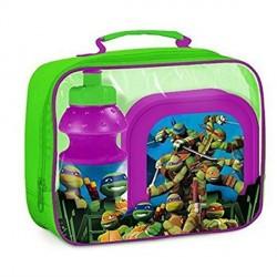 Ninja Turtles Madkasse & Drikkedunk