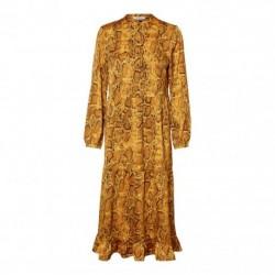 Nugget Gold SNAKE PCMARINE LS ANKLE DRESS JIT 17097211 fra Pieces