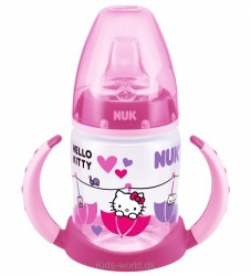 Nuk Begynderkop - First Choice - Hello Kitty - 150 ml - Pink