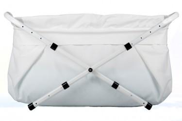 Ny tekstilpose til Bibabad badekar (u/stativ) - Hvid