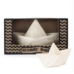 Oli & Carol Origami Båd - Hvid