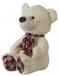 Oppustelige Bamse Isbjørn 115cm
