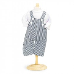 Overall med bluse