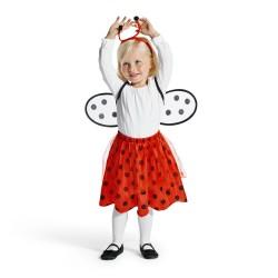 Oxybul Mariehøne Kostume, 2-4 År