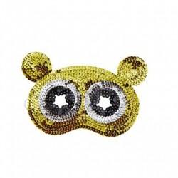 Paillet maske Bjørn til udklædning fra Rice
