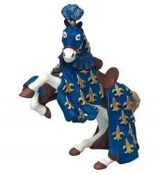 Papo Blå Prins Philip Hest - H: 8 cm