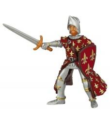 Papo Rød Prins Philip - H: 9 cm