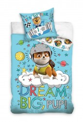 Paw Patrol ''Dream Big'' Junior Sengetøj 100x135 cm - 100 procent bomuld