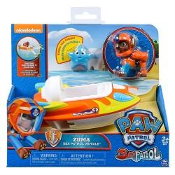 Paw Patrol - Sea Patrol Themed Speedbåd - Zuma