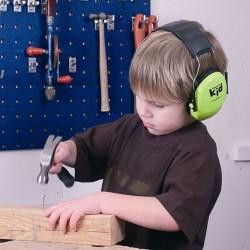 Peltor Kids Høreværn - Neon Green
