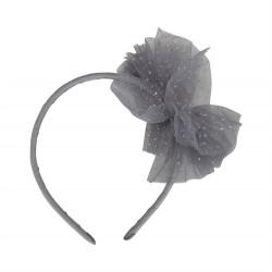 Petit By Sofie Schnoor hårbøjle med sløjfe - Grey