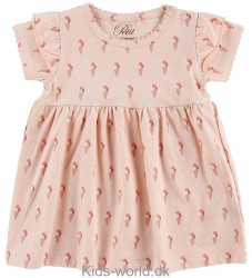 Petit by Sofie Schnoor Kjole - Basic - Rosa m. Is