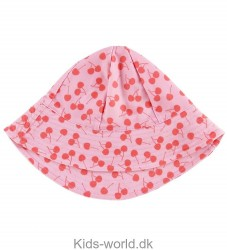 Petit Crabe Badehat - Frey - UV50 - Lyserød m. Kirsebær