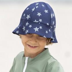 Petit Crabe Frey UV hat - stars