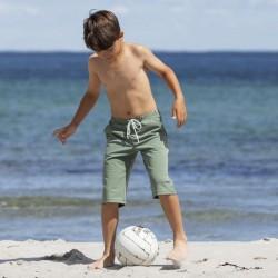 Petit Crabe Mads lange UV shorts - army