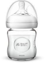 Philips Avent Natural Glas Flaske, 120 ml.