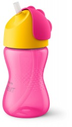 Philips Avent Sugerørskop 300 ml.pink