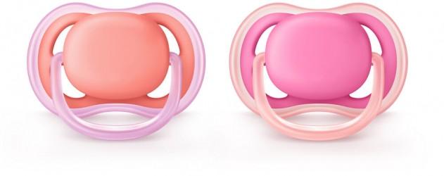 Philips Avent Sut UltraAir 6-18, 2-pak - Pink