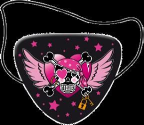 Pink Pirater - Klap til øjet - 8 stk.