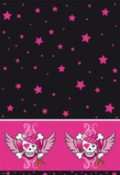 Pink Pirater - Plastikdug 137 x 259 cm