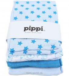 Pippi 8-pak Stofbleer - Turkis m. Stjerner/Dyr