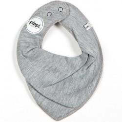 Pippi bandana savlesmæk - Grey melange