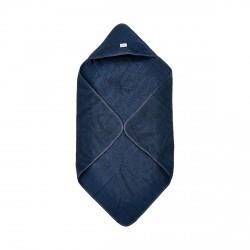 Pippi Håndklæde med hætte - Dark blue