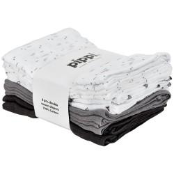 Pippi Stofbleer Med Print 8-pak - 150