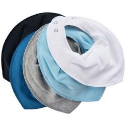 Pippi Tørklædesmæk - Ensfarvet 5-Pak - 710