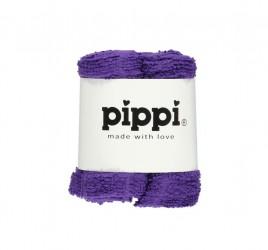 Pippi Vaskeklud -Ensfv. 4-Pak - Lilac 604