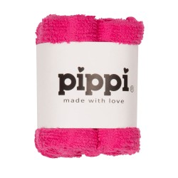 Pippi Vaskeklud -Ensfv. 4-Pak - Pink 549