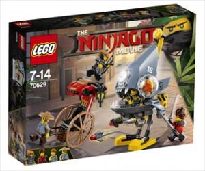 Piratfiskeangreb - 70629 - LEGO Ninjago