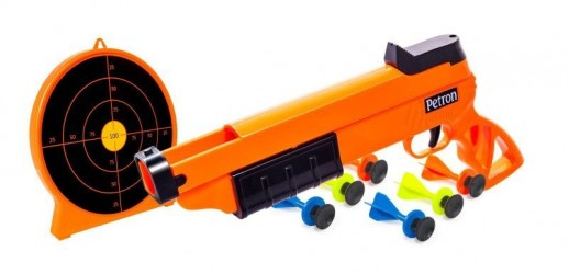 Pistol og Målskive Sureshot