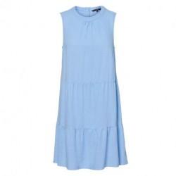 Placid Blue VMHELENMILO SL SHORT DRESS WVN 10225924 fra Vero Moda