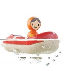 PlanToys Badelegetøj - Redningsbåd