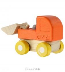 PlanToys Bulldozer - Orange