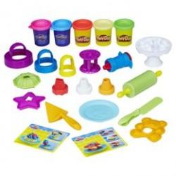 Play-Doh modellervokssæt - Kitchen Creations - Frost N Fun Cakes