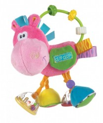 Playgro aktivitetsrangle - Clip Clop - Pink