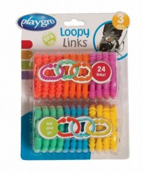 Playgro Loopy Links Samleringe - Nye Farver