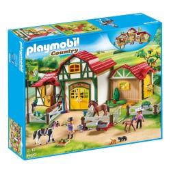 Playmobil hestestald med tilbehør