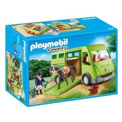 Playmobil hestetransporter