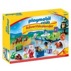 Playmobil julekalender - Jul i dyrenes skov