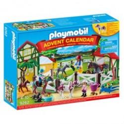 Playmobil julekalender - Ridecenter