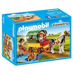 Playmobil picnic med ponyvogn
