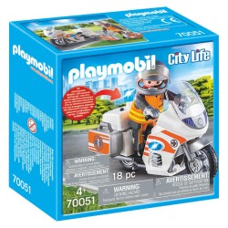 Playmobil Redningsmotorcykel