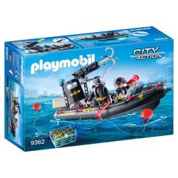 Playmobil SWAT-indsatsbåd
