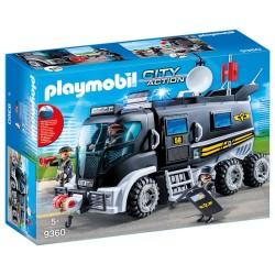 Playmobil SWAT-truck med lys og lyd